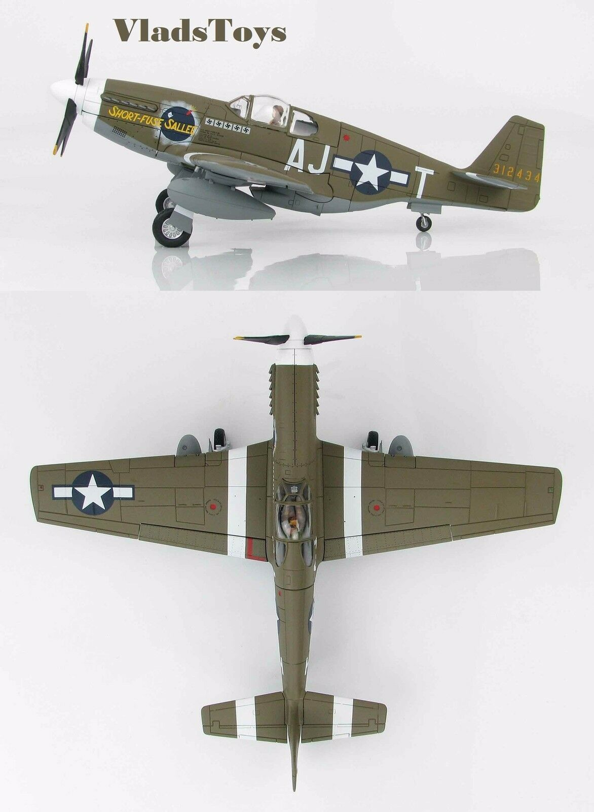 Hobby - meister 1 48 p-51b mustang 354th fg 356th fs kurze lunte sallee ha8509