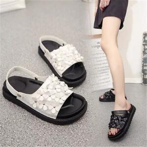 Women-Casual-Platform-Flip-Flops-Summer-Boho-Beach-Sandals-Roman-Slippers-Shoes