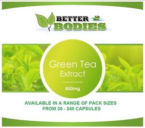 Te-verde-estratto-Capsule-850mg-Perdita-di-peso-Dieta-Slimming-Pillole-bruciagrassi