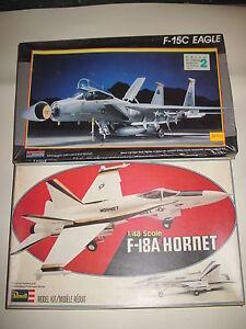 F-18A-HORNET-F-15C-EAGLE-MONOGRAM-REVELL-SCALA-1-48
