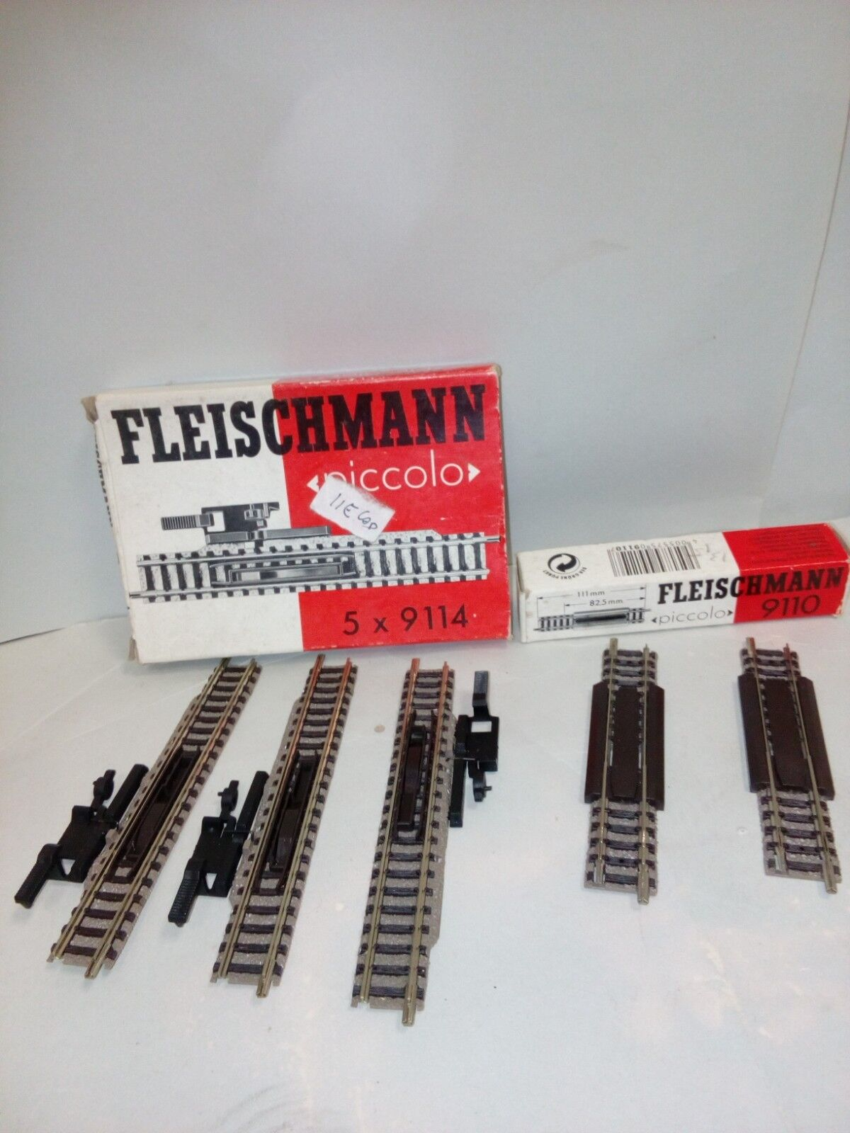 FLEISCHMANN 9110 9114  ASSORTITED LIKE NEW   COME NUOVE .N SCALE