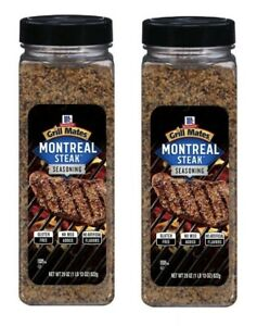 2 Montreal Steak Grill Mates Seasoning Spice 29 oz GREAT FOR GRILLING FREE SHIP