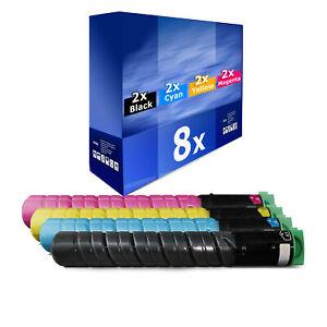 8x-Patrone-XXL-fuer-Ricoh-Aficio-MP-C-2551-AD-MP-C-2051-AD