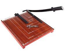 """Hot 18"""" inch A3 Paper Cutter Metal Base Trimmer Scrap Booking Blade"""