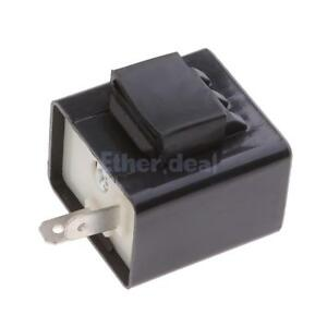 12v led blinkrelais 2 polig blinkgeber blinker relais pkw. Black Bedroom Furniture Sets. Home Design Ideas
