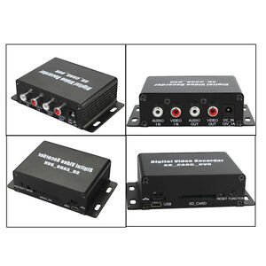 Surveillance Mini DVR SD Card Motion Detection Digital Video Recorder UP TO 32G