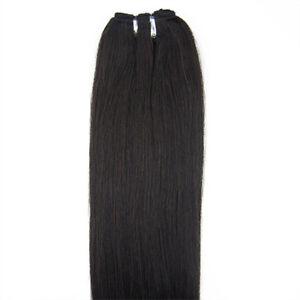 50-8cm-100-grams-Remy-Slave-Russe-dessine-Double-trame-100-cheveux-humains