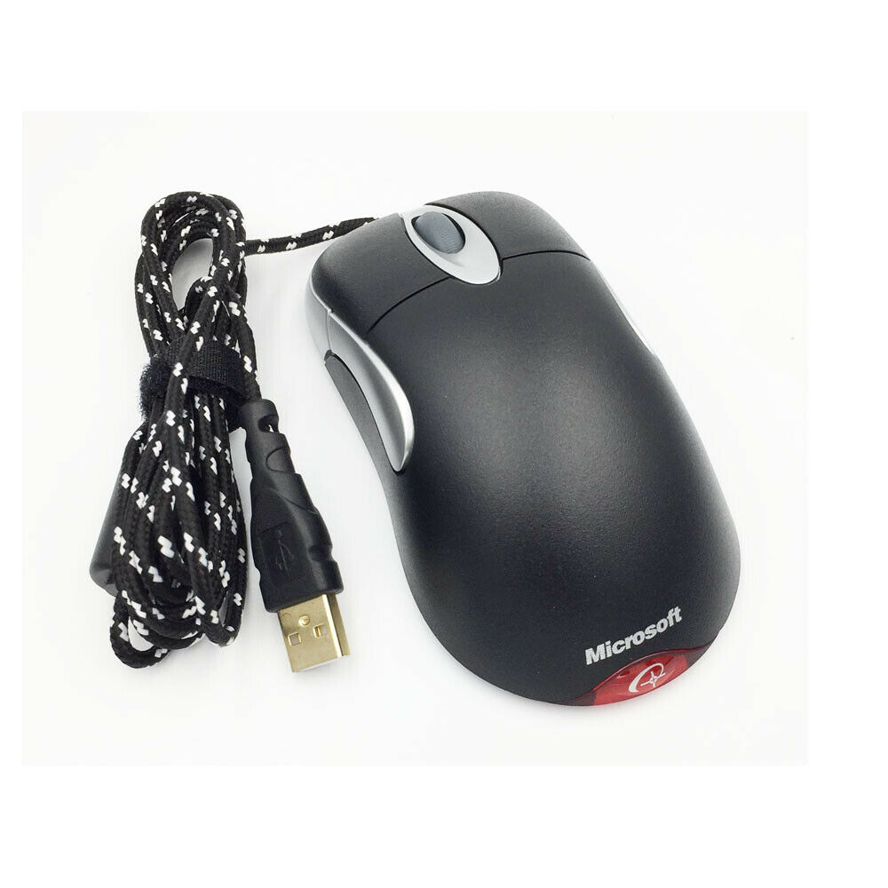 5D USB Wired Game Mouse Microsoft IntelliMouse Explorer Engraved version IE3.0