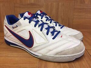 RARE-Nike-Nike5-Gato-Leather-USA-Team-Red-White-Blue-Sz-10-415123-106-Indoor