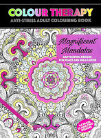 Magnificent Mandalas (Adult Colouring Book) Mindfulness Anti-Stress Exc Cond P/B