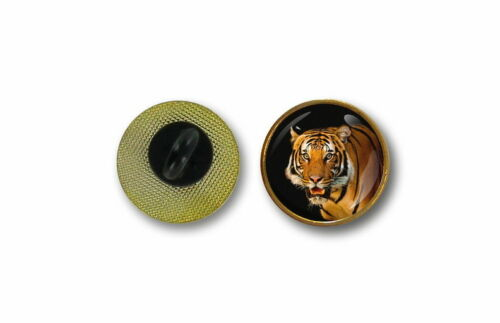 pins pin/'s flag badge metal lapel hat button tiger biker