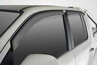 Amarok Volkswagen Dual Cab Weather Shields (set Of 4)