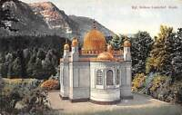 Germany Kgl. Schloss Linderhof Kiosk, Photochromiekarte 1909