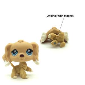Littlest Pet Shop Dog Cocker Spaniel 748 Flower Eyes Lps Toy Action Figure Ebay