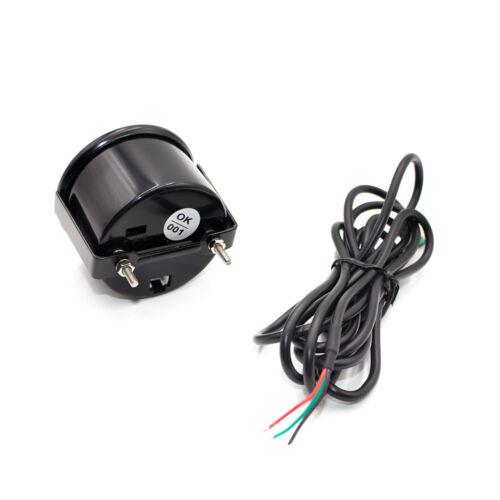 35 PSI Boost Gauge 7 Colors Digital LED Indicator Light Sensor for 12V Auto Car