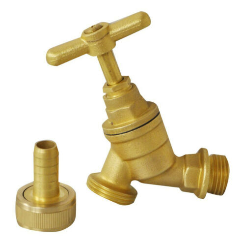 Kingfisher Pro Platinum Universal Brass Tap Great for outdoors in the garden!