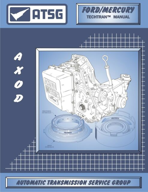 Details About ATSG AXOD Transmission Rebuild Manual Transaxle Service Overhaul Book Ford Car