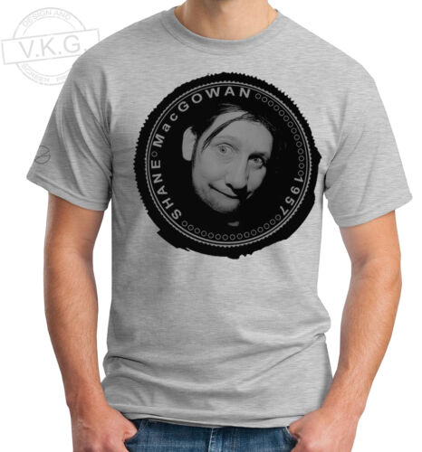 SHANE MacGOWAN of THE POGUES Cool Coin T shirt by V.K.G.