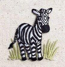 Zebra Head//Face Zoo//Safari//Wild Animals Iron on Applique//Embroidered Patch