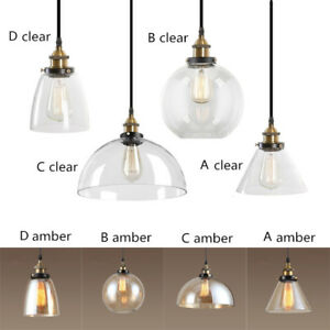 Modern Pendant Light Home Glass Ceiling Lights Bar Kitchen - Kitchen pendant lighting ebay
