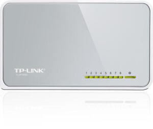 TP-Link-TL-SF1008D-8-Port-Fast-Ethernet-10-100Mbps-Network-Desktop-Switch-RJ45