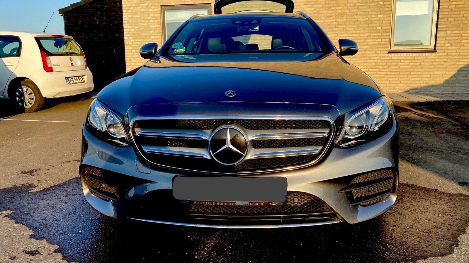 Mercedes E220 d 2,0 AMG Line stc. aut. 5d - 3.695 kr.