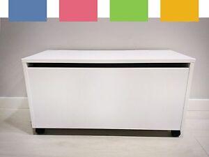 sitztruhe stauraum hocker sitzbank truhe spielzeug kiste. Black Bedroom Furniture Sets. Home Design Ideas