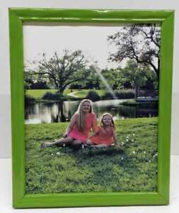 8x10-Glossy-Green-Solid-Wood-Photo-Picture-Frame-Polished-Lacquer-8-x-10-New