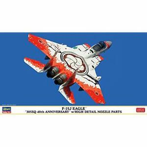 Hasegawa-1-72-JASDF-F-15J-Eagle-305SQ-40th-Anniv-Kit-w-High-Detail-Nozzle-Parts