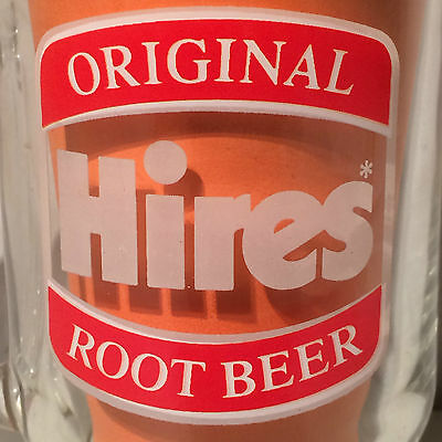 Original Hires Root Beer Float Glass Mug Cup Burger King Advertising Drink Old Ebay