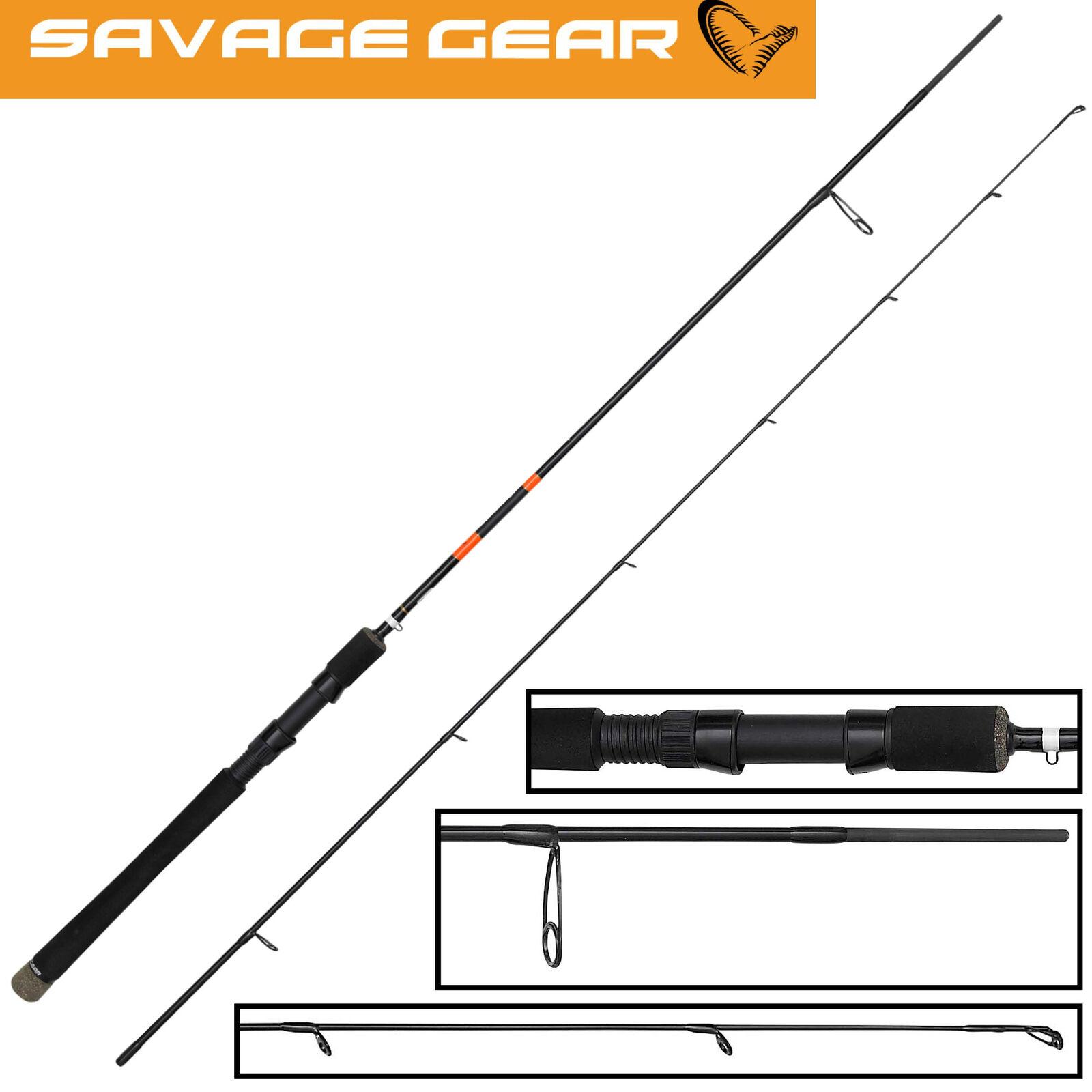 Savage Gear MPP2 Spin 198cm 7-23g - Spinnrute für Barsch, Angelrute, Blinkerrute