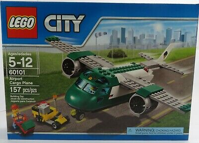 New /& Sealed AIRPORT CARGO PLANE LEGO 60101 City