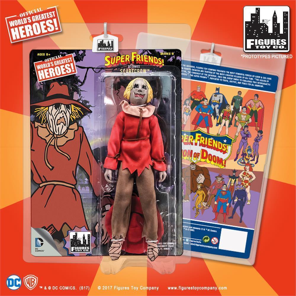 DC Retro Mego Kresge Style Super Friends Scarecrow Series 5 Action Figure