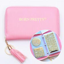Born Pretty 24 Slots Nail Art Stamp Plate Holder Case Image Template Organizer