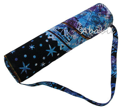 New Yoga Mat Bag Gym Exercise Yoga Mat Carrier Bags With Shoulder Strap Throw US
