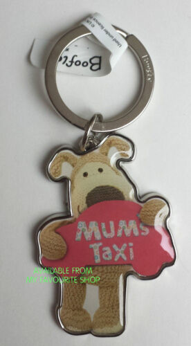 Taxi BOOFLE METAL KEYRING Mum Dad Auntie Daughter Love Heart Special
