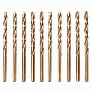 7.5mm Diameter 70mm Flute Long HSS-CO Straight Shank Cobalt Drilling Bit