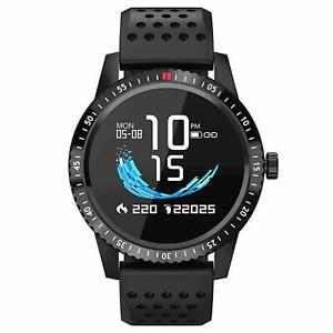 Smartwatch-per-Android-e-Apple-iOS-Impermeabile-con-GPS-Facebook-WhatsApp-Cardio