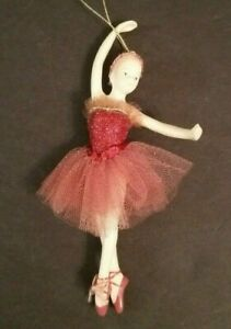 KURT-ADLER-Ballerina-Christmas-Ornament-In-Original-Box-6-1-4-034-Tall