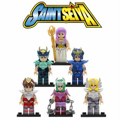 Simil LEGO Cavalieri Dello zodiaco 12 Gold Knights Minifigures New Saint Seya