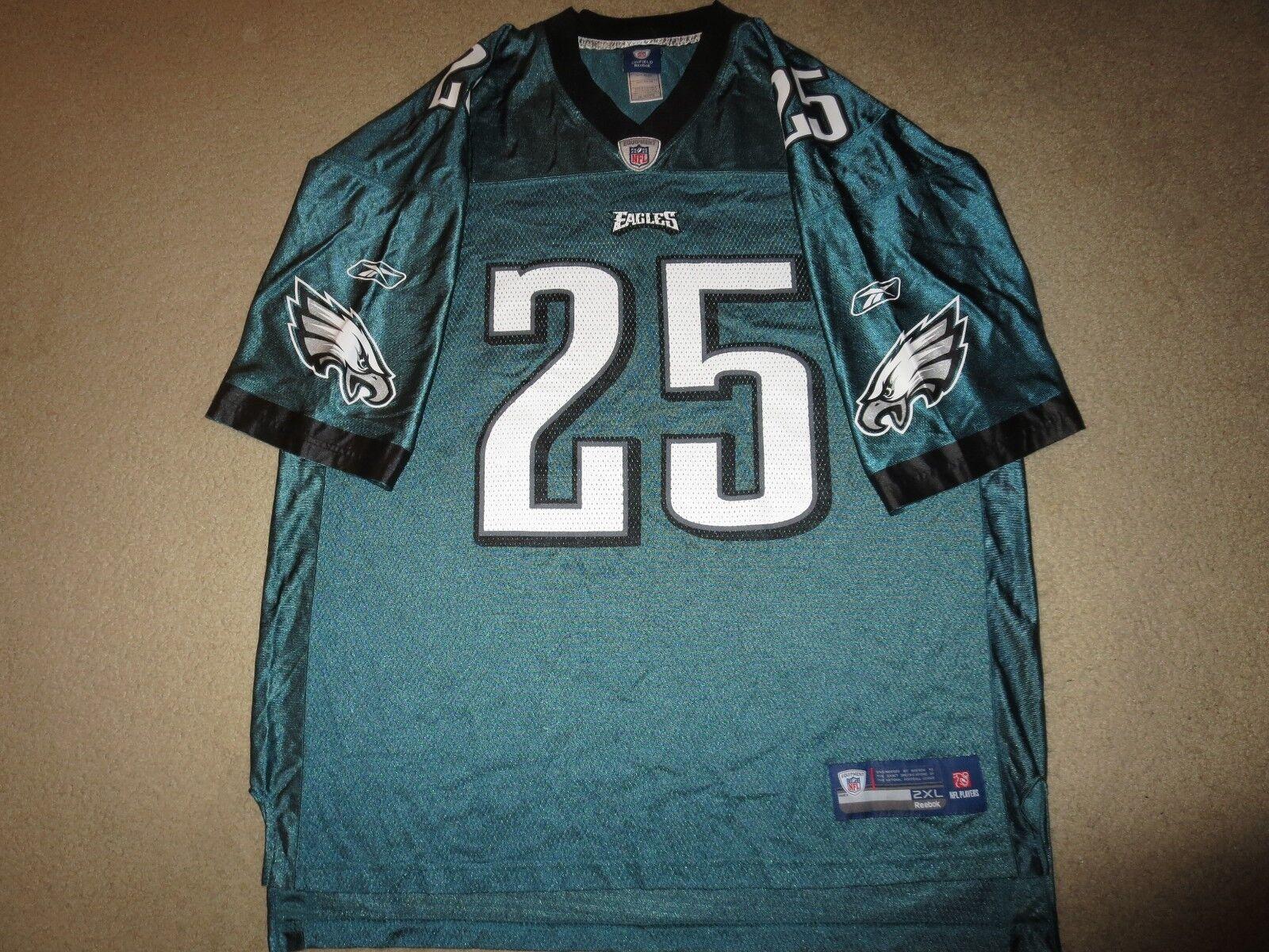 Lesean Mccoy  25 Philadelphia Eagles Reebok NFL Trikot 2XL  | Diversified In Packaging