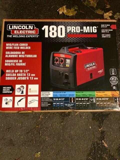 Lincoln Electric Weld Pak 140 HD Wire-Feed Welder K2514-1