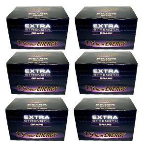 5-Hour-Energy-Extra-Grape-Energy-Shots-72-Bottles-2oz-Exp-2-2020-Free-Shipping