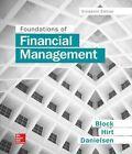 Foundations of Financial Management by Bartley Danielsen, Geoffrey Hirt, Stanley Block (Hardback, 2016)