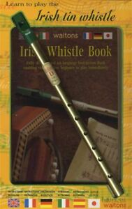Apprendre à Jouer Le Irish Tin Whistle Instrument De Musique Livre-afficher Le Titre D'origine Prix Fou