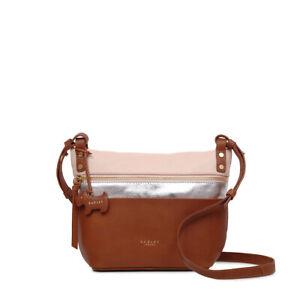 d6c7c86ccd4 Radley London Kensal Stripe Medium Zip-Top Cross Body Bag NEW | eBay