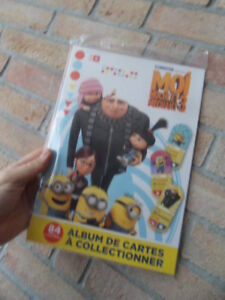 Album Cartes Auchan Moi Moche Et Mechant 3 Auchan Neuf Sous Blister