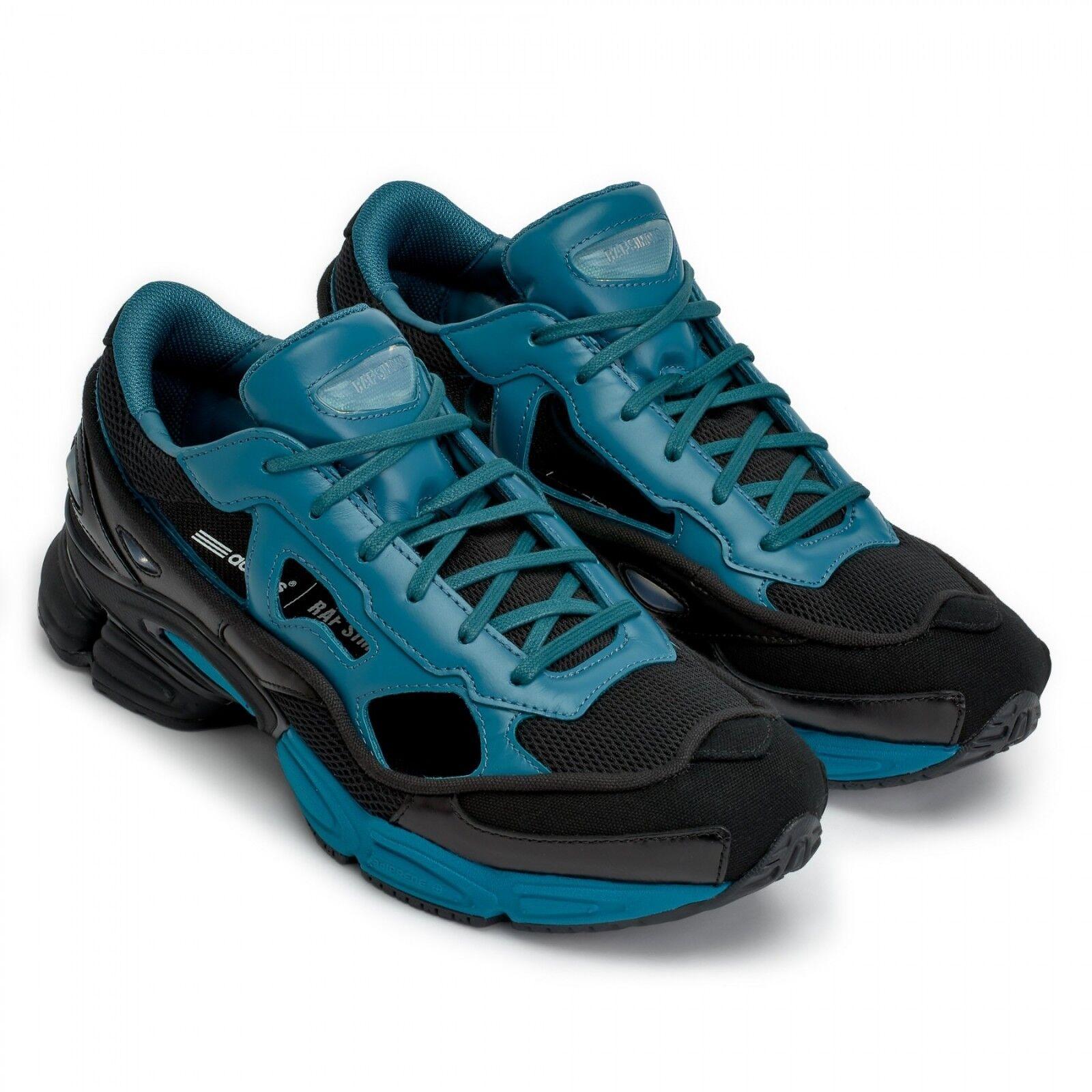 Adidas X Raf Simons RS Ozweego Replicant Black   bluee   Black