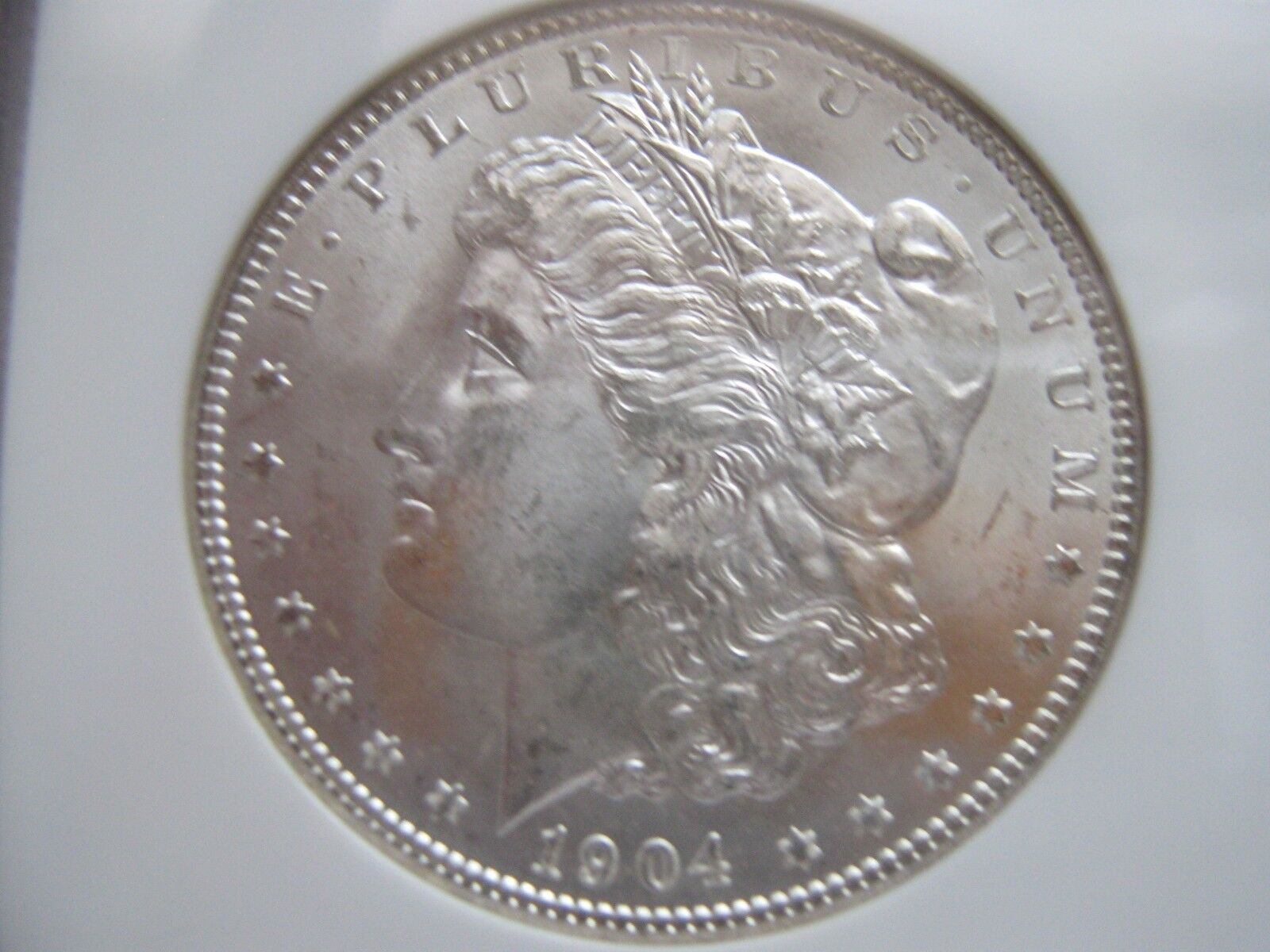 1904-O , Morgan Silver Dollar , NGC , MS 64