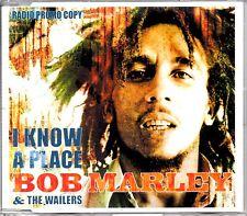BOB MARLEY & THE WAILERS - I KNOW A PLACE - VERY RARE PROMO CD SINGLE - MINT
